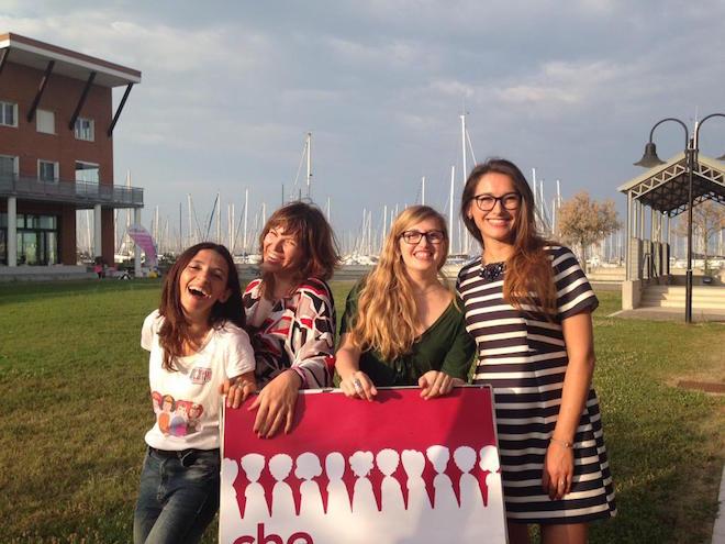 Il team GGD Ravenna, in attesa degli ospiti