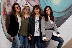 Le GGD Ravenna. Da sinistra: Valentina Crociani, Sara Baraccani, Silvia Versari, Marianna Panebarco