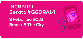 iscriviti alla GGDRA14: Smart & The City